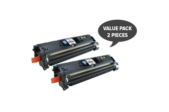Q3960 C9700 C3960 EP87 CART301BK Black Toner (Two Pack)