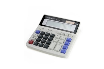 Calculator Solar And Aa Battery Dual Power Electronic Calculator