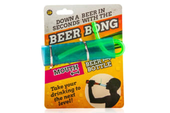 Mini Beer Bong Stubby Snorkel Party Drinking Novelty