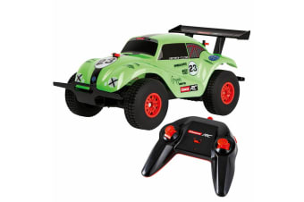 Carrera RC 1:18 VW Beetle, Off-Road 2.4 GHz USB Charge - Green