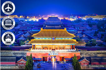 CHINA: 11 Day China Tour Including Xi'an & Flights for One or Two