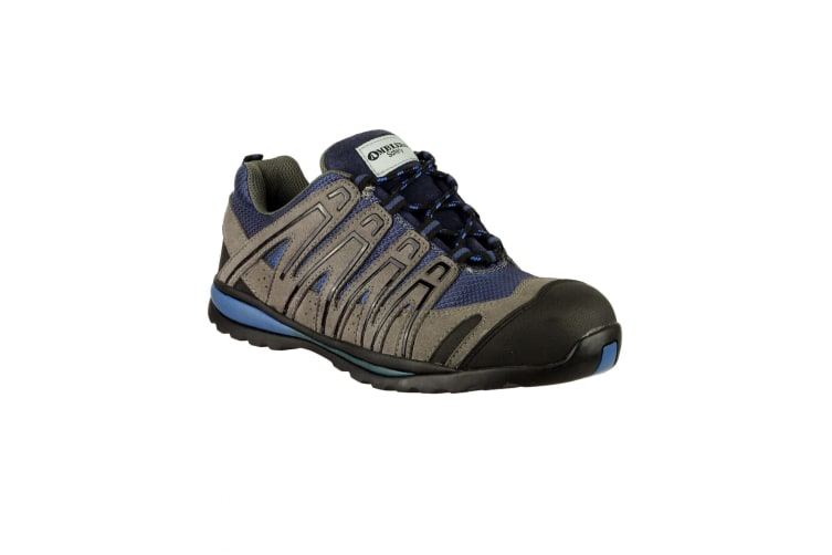 Amblers Safety FS34C Safety Trainer / Mens Trainers (Blue) (6 UK)