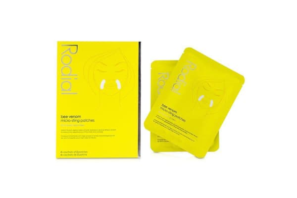 Rodial Bee Venom Micro Sting Patches 4 Sachet Pack 4x2patches