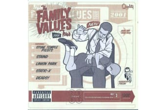 THE FAMILY VALUES TOUR 2001 / VARIOUS ARTISTS BRAND NEW SEALED MUSIC ALBUM CD