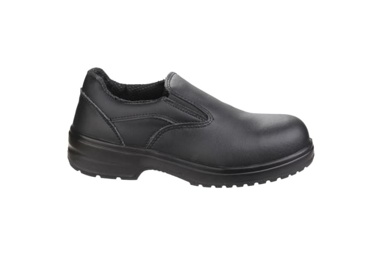 Amblers Safety FS94C Ladies Safety Slip On / Womens Shoes (Black) (4 UK)