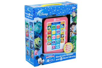 ME Reader Disney Modern - Electronic Reader and 8-Book Library