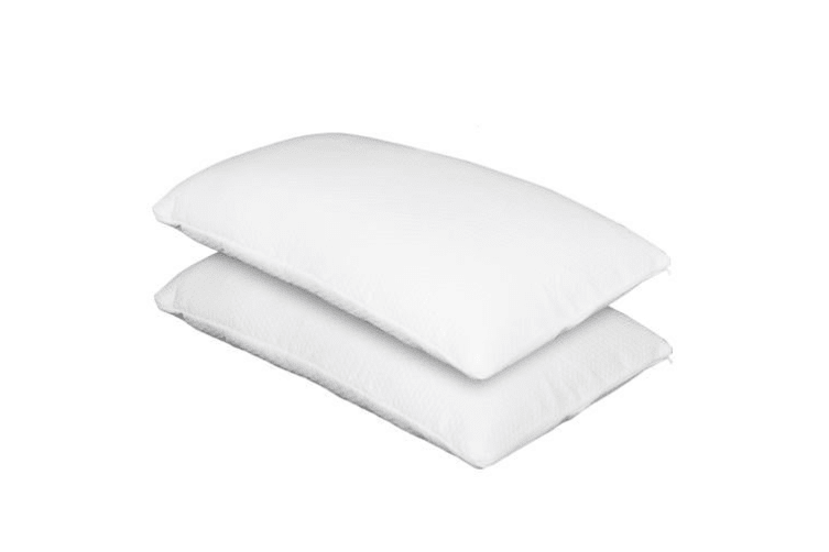 Giselle Bedding Memory Foam Pillow Twin Pack PIllows w/Cover Soft Home Hotel