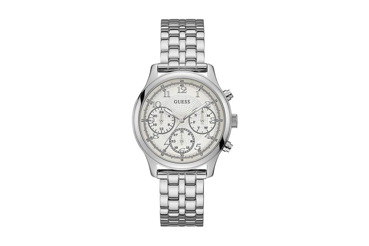 Guess Women's Taylor Silver Watch (Silver)