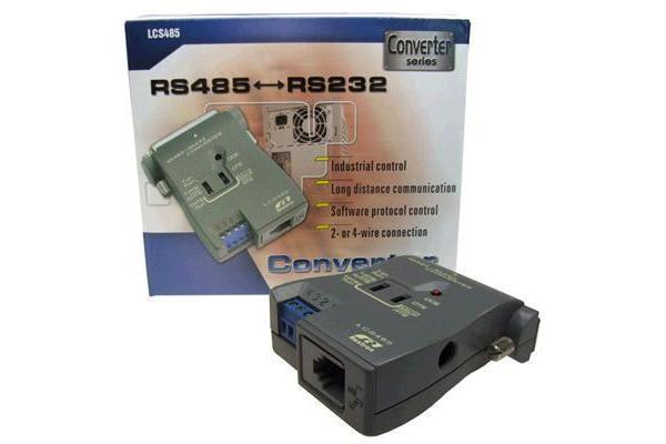 REXTRON RS-232 to RS-422/485 Converter  Converts RS-232 signals to RS-485 for communication on