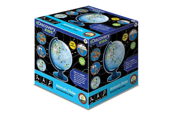 Discovery Kids  Illuminated Animal Globe