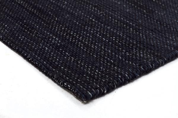 Ida Modern Wool Rug Midnight Blue 280X190cm