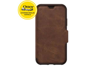 Otterbox Strada Folio Case/Cover/Protector Card Slot for iPhone X Brown