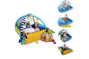 Baby Einstein 5in1 Play Gym Jumbo Mat/Tummy Time w/Toys/Kids/Infant/Newborn 0m+