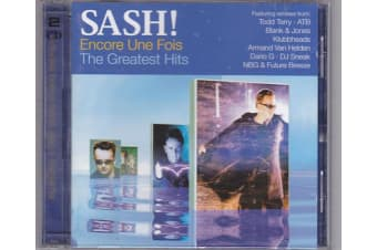 Sash! ‎– Encore Une Fois - The Greatest Hits BRAND NEW SEALED MUSIC ALBUM CD