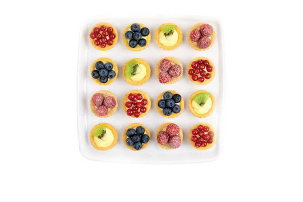 Mastrad Silicone 16 Cup Fluted Mini Tartlet Baking Pan
