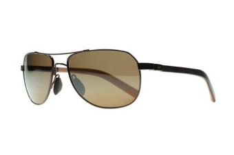 Maui Jim Guardrails H32723 Copper with Tan Mens Sunglasses Polarised