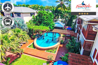 PORT DOUGLAS: 4 Nights at Freestyle Resort Port Douglas Including Flights For Two