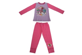 Trolls Princess Childrens/Kids Dreams Pyjama Set (Multicoloured) (9/10 Years)