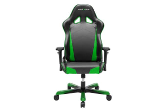 DXRacer Tank TS29 Gaming Chair Black & Green - Sparco Style Neck/Lumbar Wide