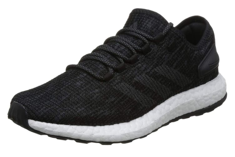 Adidas Men's PureBOOST Running Shoe (Core Black/Grey, Size 8.5 UK)