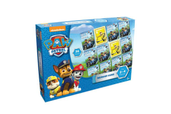 36pc Paw Patrol Educational Memory Playing Card Game Toys 2-4 Players Kids 3y+