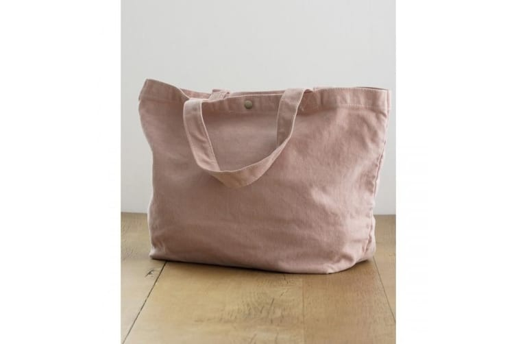 Bags By Jassz Small Canvas Shopper (Pepper Grey) (One Size)