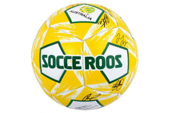 Summit Size 5 Socceroos Signature Soccer/Football Stitched PVC 12 Panel Ball