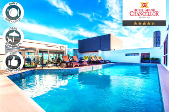 BRISBANE: 2 Night City Stay at the Grand Chancellor Hotel for Two