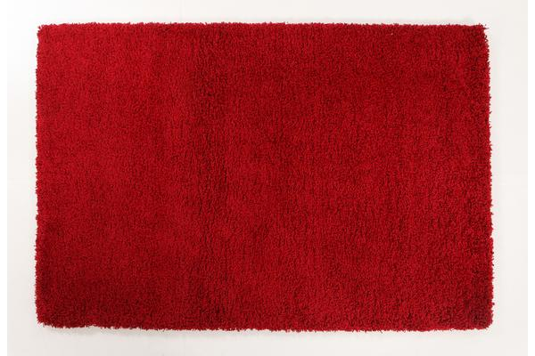 Thick Soft Polar Shag Rug - Red 290x200cm