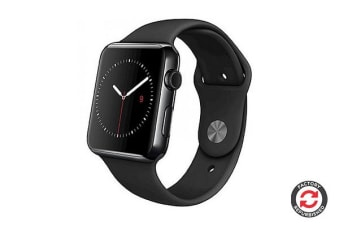 Apple Watch Series 0 Refurbished (Black, Aluminium, 42mm, Sports Band) - AB Grade