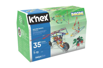 K'Nex Builder Basics 35 Model Set