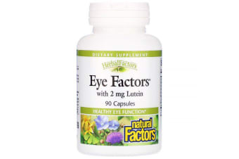 Natural Factors Eye Factors with 2 mg Lutein 90 Capsules