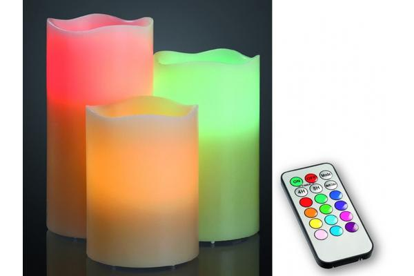 Remote Controlled  Candles Set 3