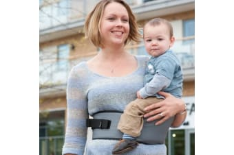 Hippychick Hipseat Baby Carrier Grey