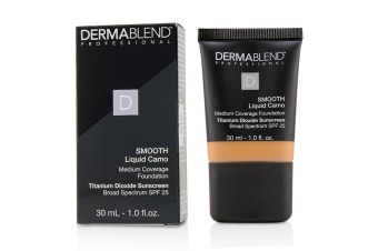Dermablend Smooth Liquid Camo Foundation SPF 25 (Medium Coverage) - Copper (55W) 30ml