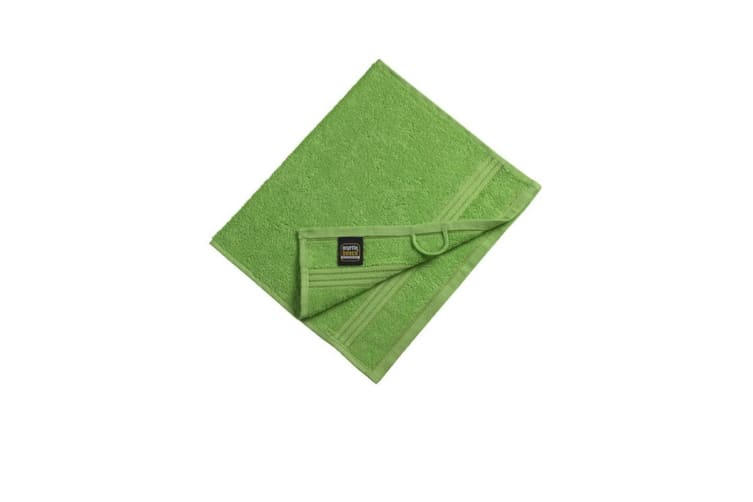 Myrtle Beach Basic Guest Towel (Lime Green) (One Size)