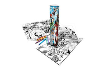 Disney Finding Dory Childrens Girls Official Poster Art Colouring Tube (Multicoloured) (One Size)