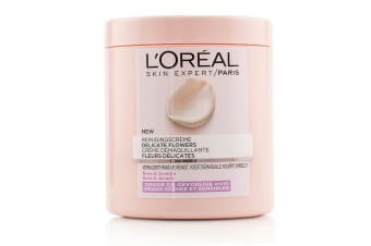L'Oreal Skin Expert Delicate Flowers Cleansing Cream - For Dry Skin 200ml/6.7oz