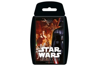 Top Trumps Star Wars 4-6 IV-VI Educational Card Game 6y+ Family/Kids/Adult Toy