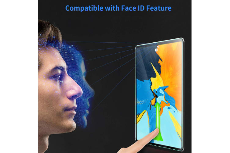 """[3 Pack] Apple iPad Pro 11"""" 2018 Anti-Glare Matte Film Screen Protector by MEZON – Face ID Compatible, Case and Pencil Friendly (iPad Pro 11"""", Matte)"""