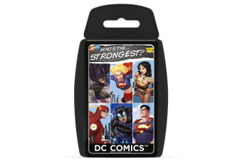 Top Trumps Who's The Strongest DC Comic Cards