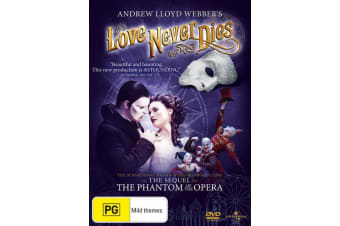 Andrew Lloyd Webbers Love Never Dies DVD Region 4