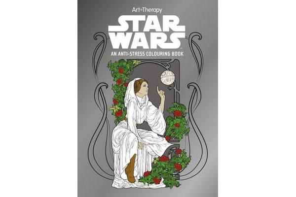 Books Star Wars Art Therapy Colouring Book