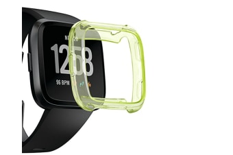 Tpu Soft Accessories Protective Case Frame Cover Shell For Fitbit Versa Smart Fitness Watch Green