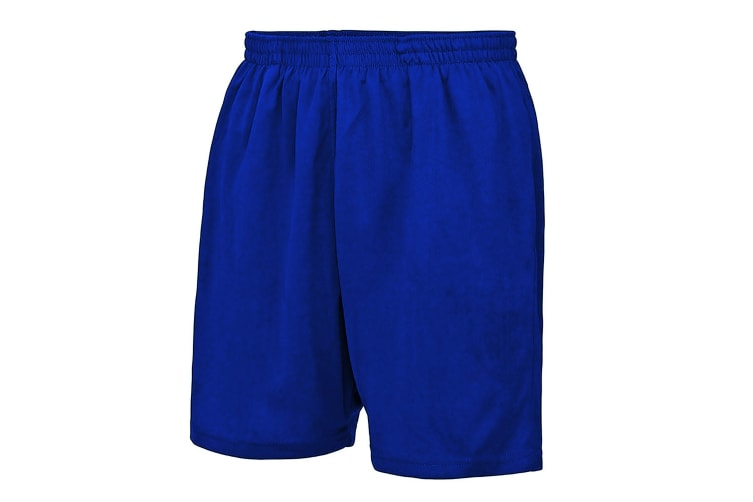 AWDis Just Cool Childrens/Kids Sport Shorts (French Navy) (7-8 Years)