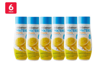SodaStream 6 Pack Fruits Homestyle Lemon Squash Flavouring