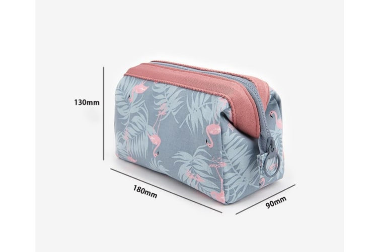 Large-Capacity Sundry Bag Multifunctional Hand-Held Portable Cosmetic Bag - Sky Blue Blue