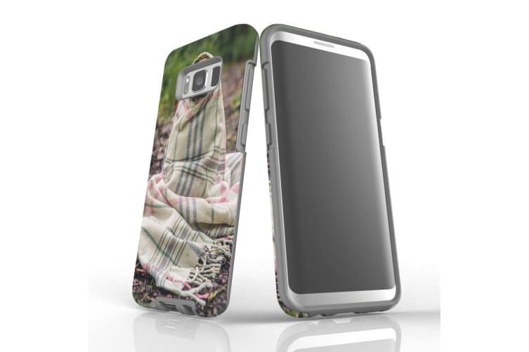 For Samsung Galaxy S8 Case  Armour Tough Cover  Covered Pug