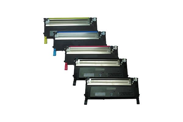 1230 Series Generic Toner Set Plus Extra Black