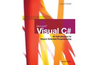 Microsoft Visual C# - An Introduction to Object-Oriented Programming